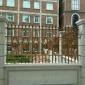 厂家定制直销 阳台铸铝护栏铝艺围栏别墅庭院花园时尚防护栏