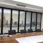 瑞宏活动隔音墙直销 包房活动屏风 玻璃折叠屏风门  会议室移动玻璃门 餐厅可推拉折叠门 宴会厅高隔断 上门安装